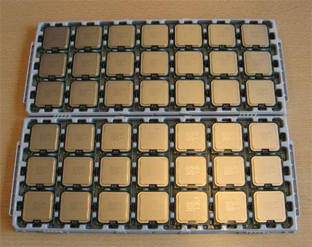 Intel E8400 trays