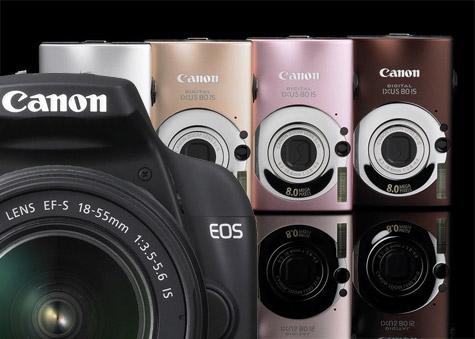 Canon 1000D Ixus80