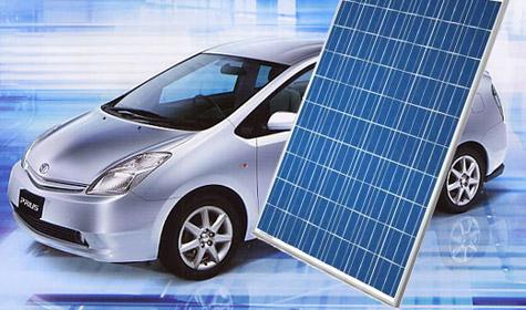 Toyota Prius zonnepanelen