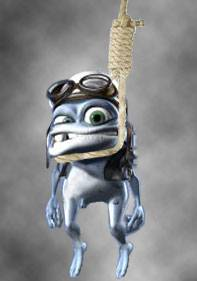 Crazy Frog overleden
