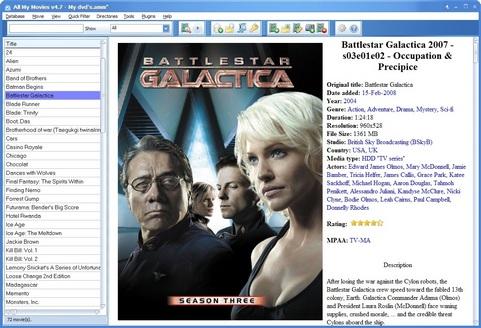 All My Movies screenshot (481 pix)