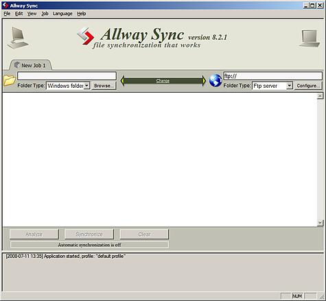 Allway Sync 8.2.1 - 475px