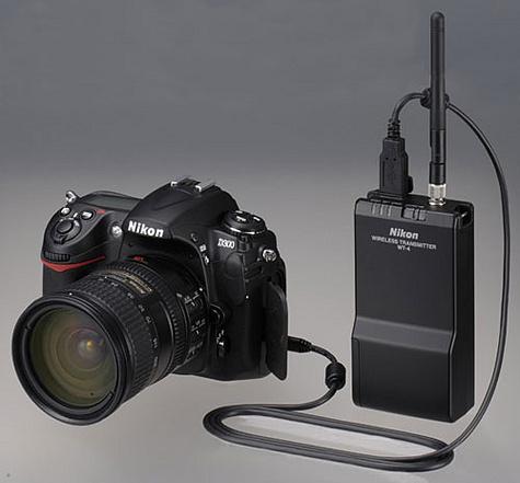 Nikon D300 met WT-4