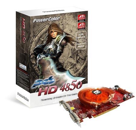 Powercolor PCS HD4850 2GB