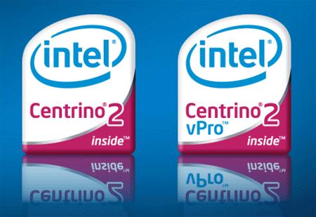 Intel Centrino 2 en vPro logo