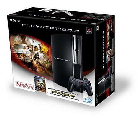 80GB Playstation 3