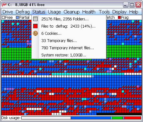 Vopt 9.01 screenshot