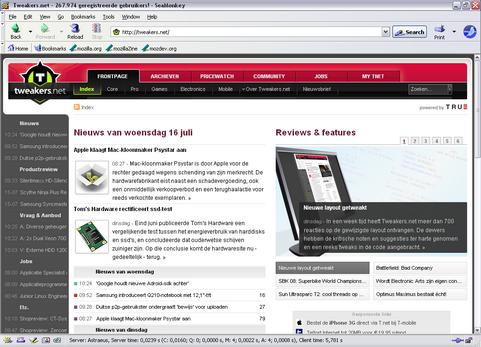 Mozilla Seamonkey 1.1.11 screenshot (481 pix)