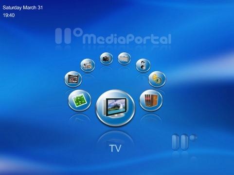 MediaPortal screenshot (481 pix)