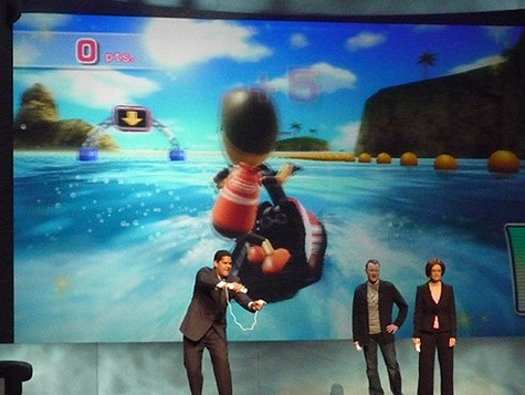 Wii Motionplus E3 2008 on stage