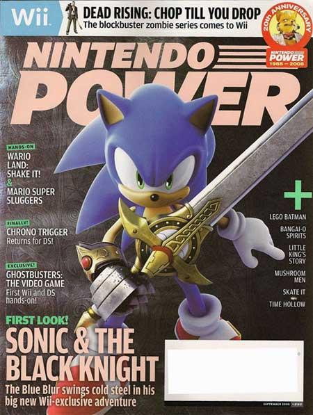 Sonic & The Black Knight Magazine