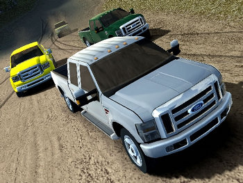 Ford Racing Off Road Render
