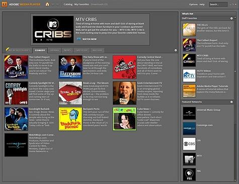 Adobe Media Player 1.1 (kleiner)