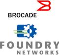 Foundry en Brocade logo's