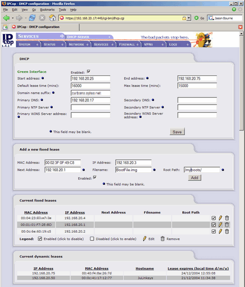 IPCop screenshot (481 pix)