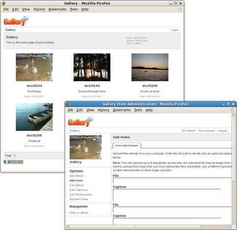 Gallery 2 screenshot (481 pix)
