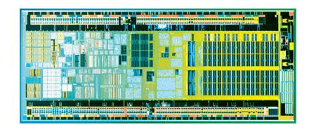 Intel Atom die