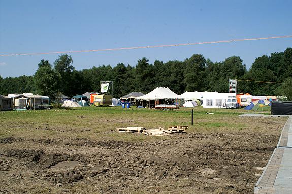 Campzone 2008 - Activiteitenveld in reverse-angle