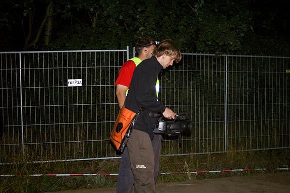 Campzone 2008 - CCTV neemt de opening op