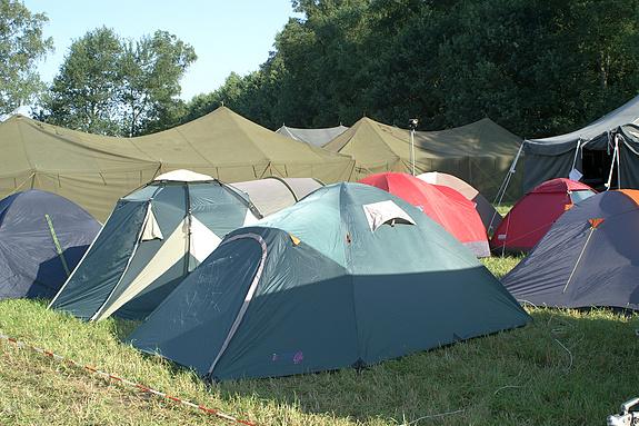 Campzone 2008 - Slaaptenten