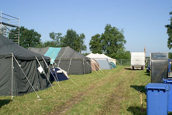 Campzone 2008 - Huurtenten