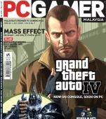 Cover PC Gamer Malaysia met GTA IV pc-versie