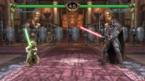 Yoda versus Vader