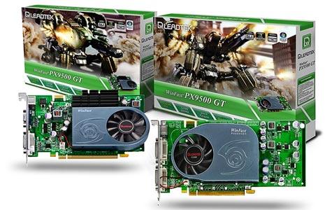 Leadtek Geforce 9500 GT-kaarten