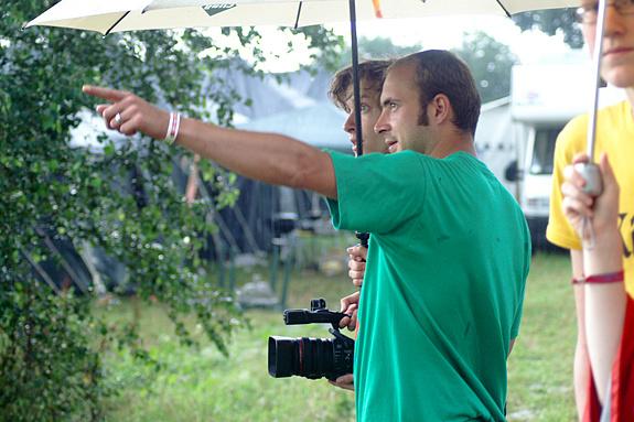 Campzone 2008 - CCTV neemt op