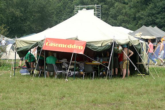 Campzone 2008 - de casemodtent
