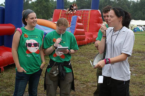 Campzone 2008 - Het activiteitenteam