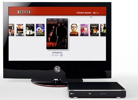 LG BD300 met Netflix-ondersteuning