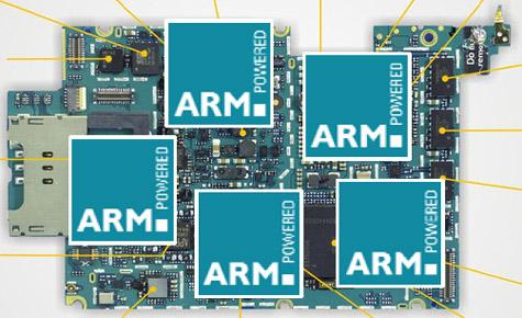 Iphone 3G vijf ARM-cores