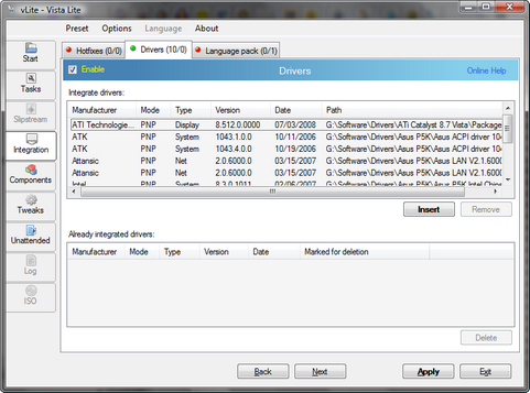 vLite screenshot (481 pix)
