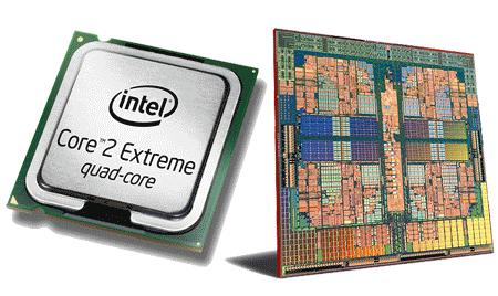 AMD en Intel quadcore-cpu's