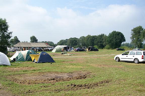 Campzone 2008 - Afbreken Campzone