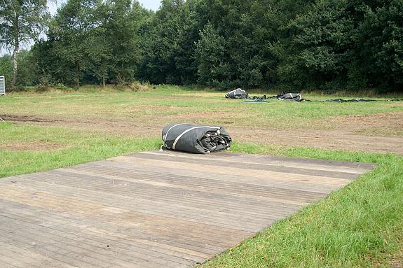 Campzone 2008 - Hier stond de tent van CCTV