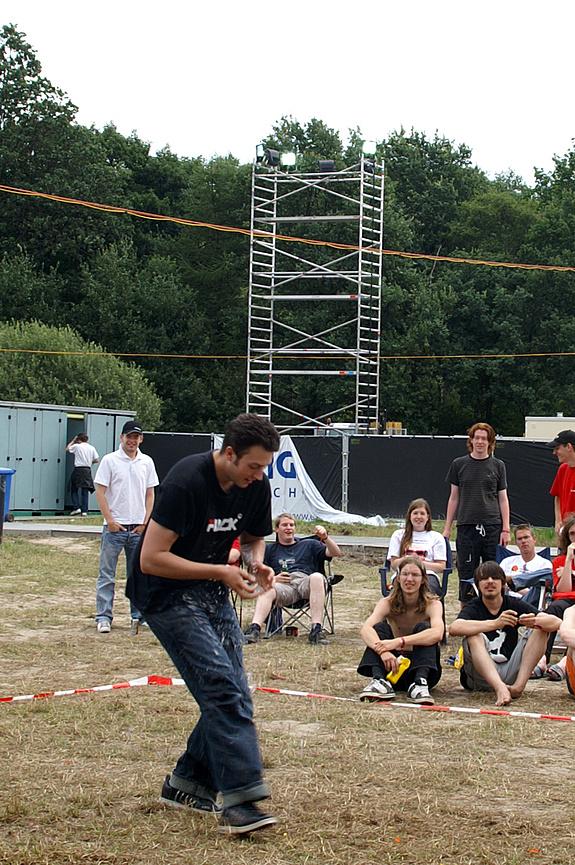 Campzone 2008 - ...en sbmuc vangt hem