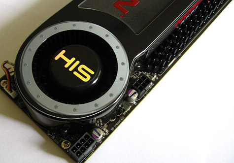 HIS Radeon HD 4870 X2 close-up