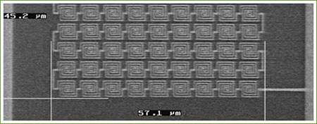 Detail nano-antennes