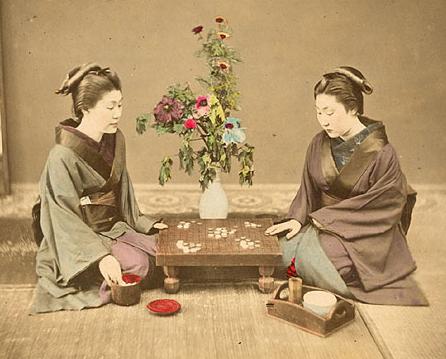 Go-spelers in Japan