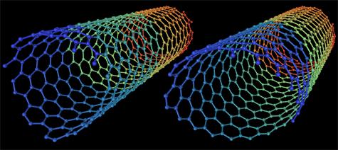 Enkelwandige koolstof nanobuisjes
