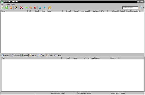 µTorrent 1.8.1 build 11903 bèta