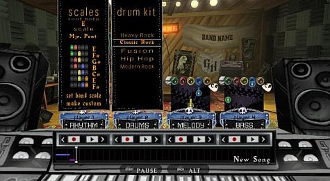 Guitar Hero World Tour instruments Studio