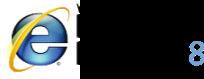IE8 logo
