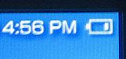 PSP battery indicator