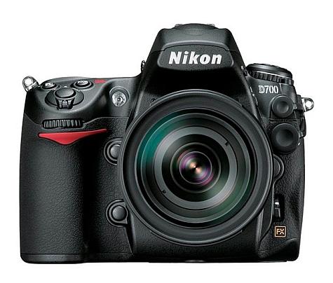 Nikon D700 productfoto groot