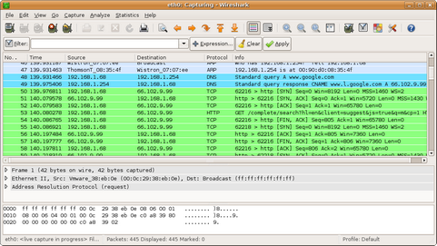 Wireshark screenshot (481 pix)