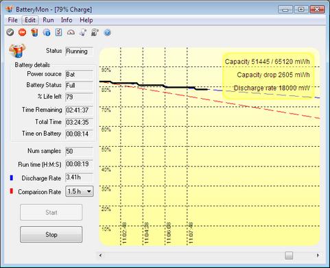 BatteryMon screenshot (481 pix)