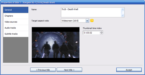 DVD Flick screenshot